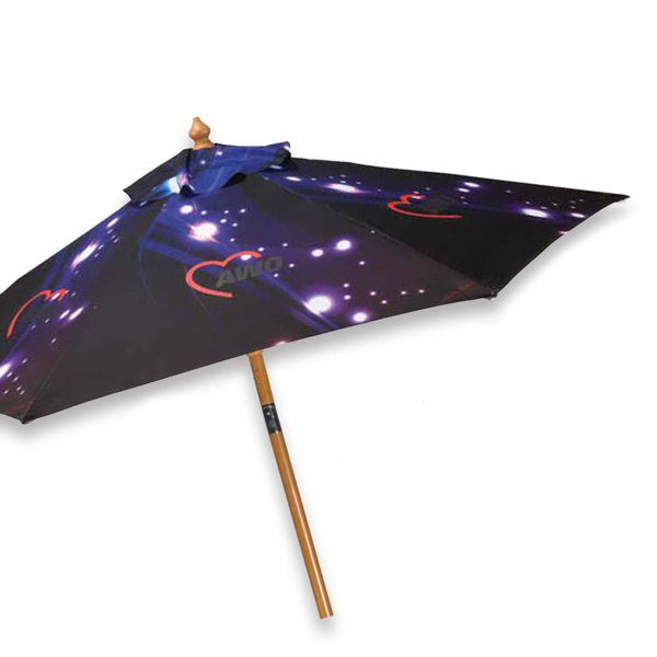 Customized Digital Print Aluminum Market Umbrella