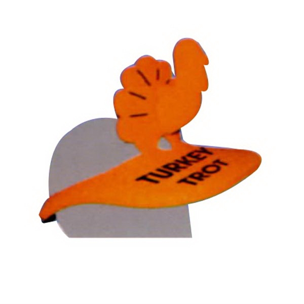 2 Piece Turkey Foam Pop-Up Visor