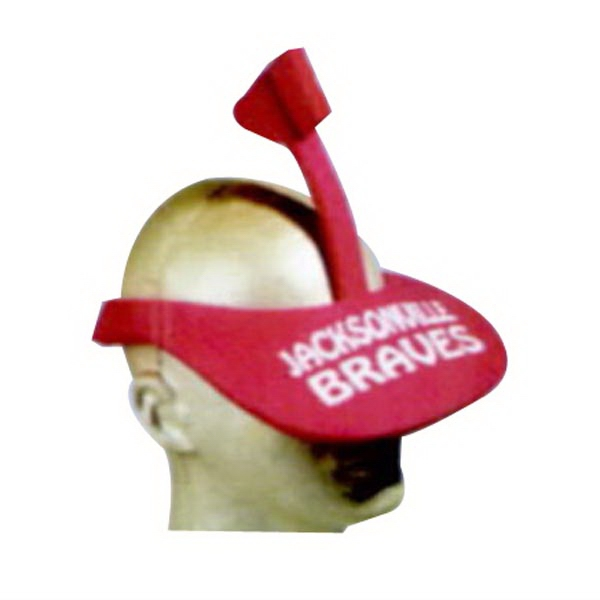 2 Piece Tomahawk Foam Pop-Up Visor