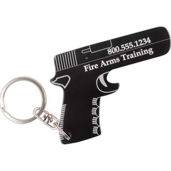 Gun Key Chain / Bottle Opener