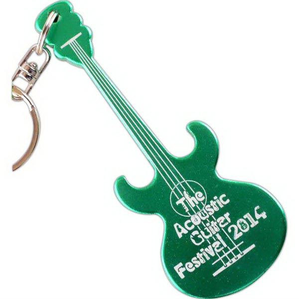 Acoustic Guitar Key Chain / Bottle Opener