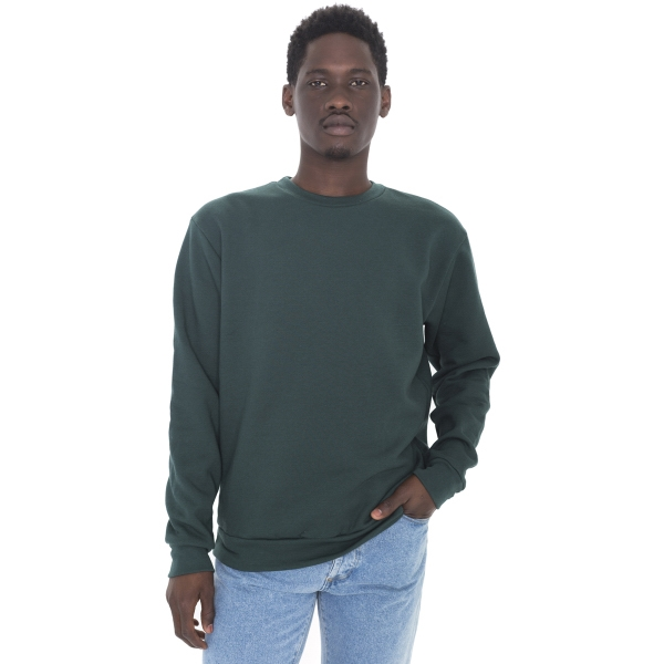 Flex Fleece Crewneck Pullover Drop Shoulder Sweatshirt