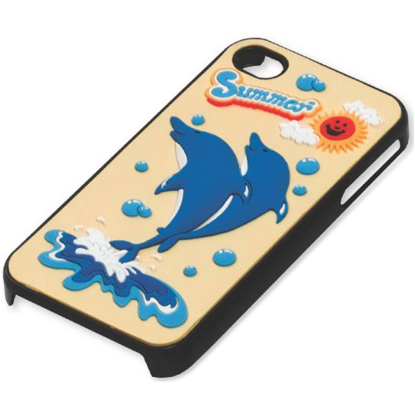Printed Cell Phone Case with Laser-Cut PVC