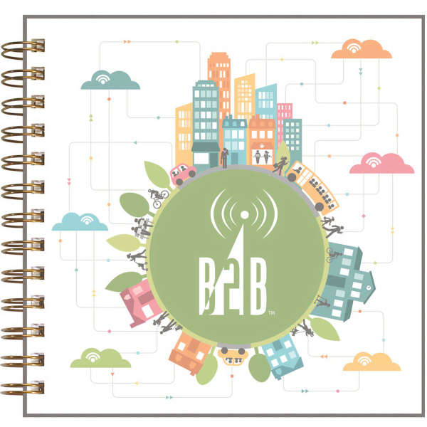 ClearView (TM) Square NoteBook