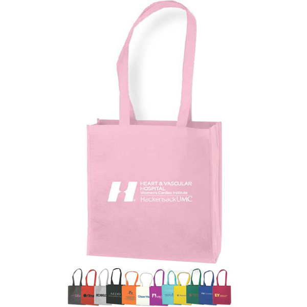 "Promotional 18"" Handles Tote Bag"