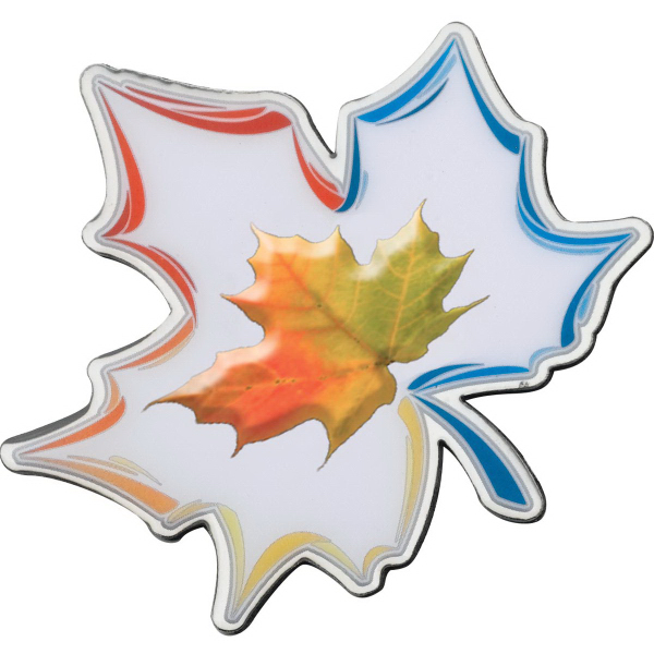 Imprinted Custom Shape Stainless Steel Full Color Magnet