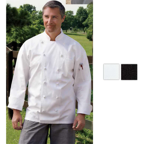 Custom Executive Black Chef Coat