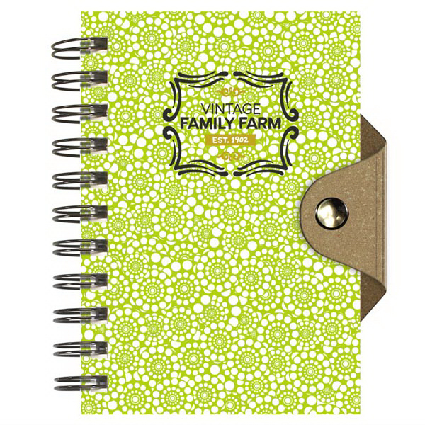 Personalized Small BoutiqueBook (TM) with Leather Back