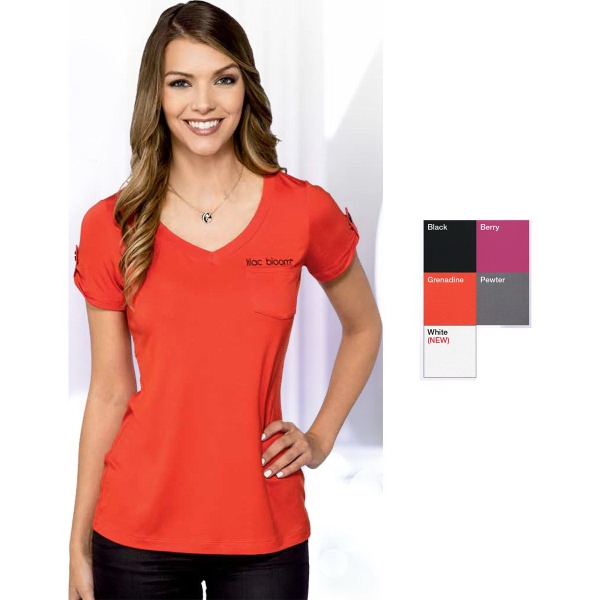 Chloe Women's  V-neck Shirt