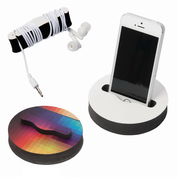 True View Phone Stand with Cord Winder