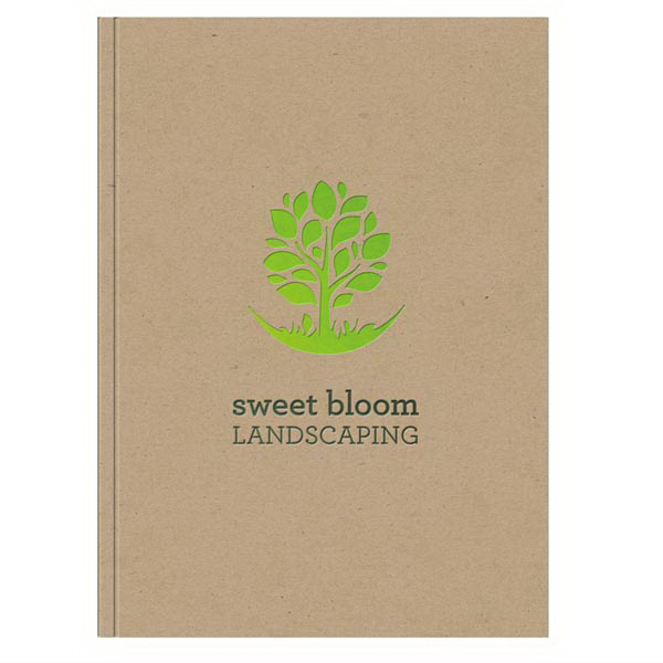 Imprinted Eco Window Pad PerfectBook (TM) NotePad