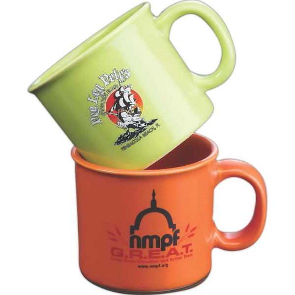 Promotional 12 oz. Camp Mug