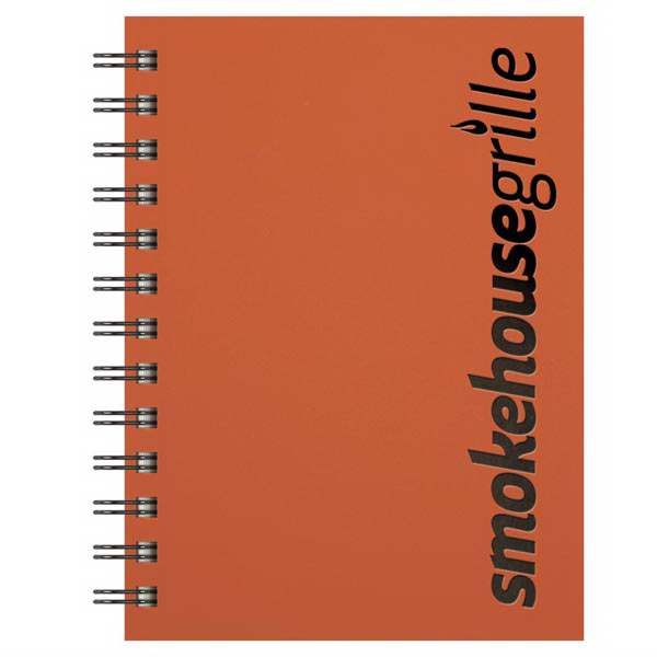 Imprinted Small SmoothMatte Journal (TM) with Snap Wrap