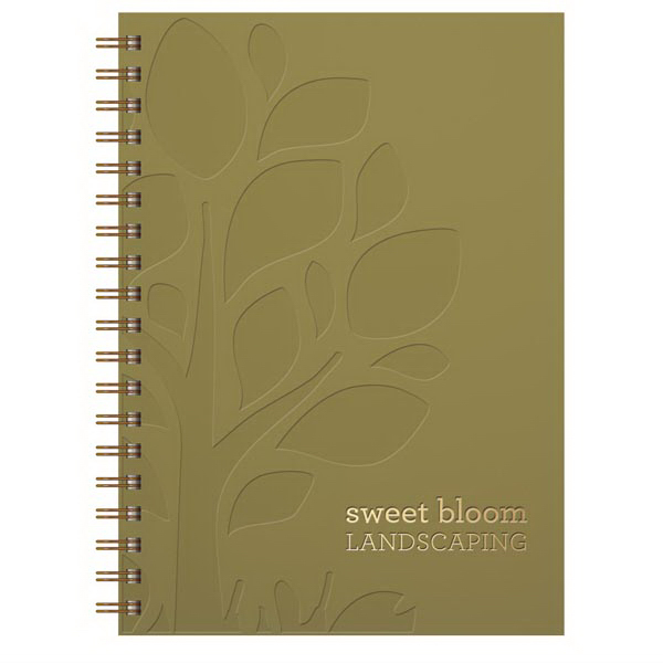 Customized Large SmoothMatte Journal (TM) with Window Pad