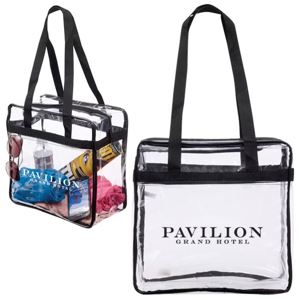 Customized NFL & PGA Compliant Clear Stadium Tote