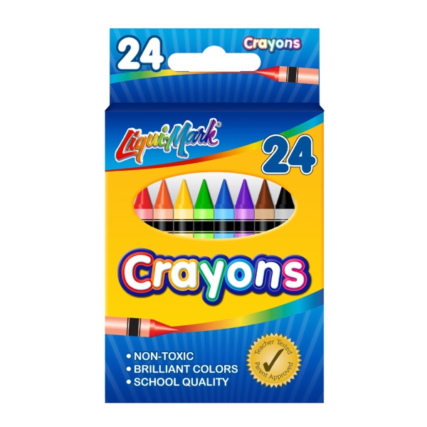 Custom 24 Pack of Crayons