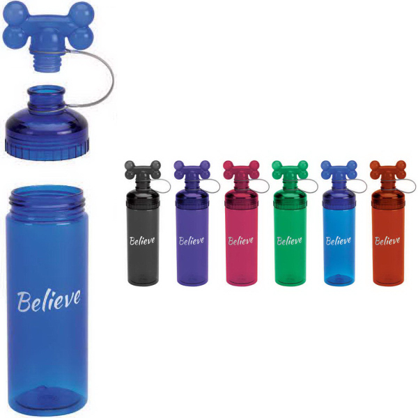 Custom 24 oz. Bow Wow Water Bottle