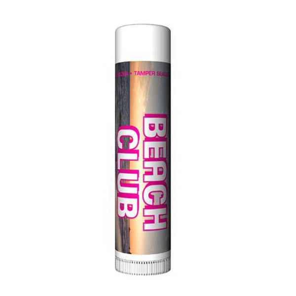 Printed Fruit Punch SPF 30 Lip Balm with Custom Label