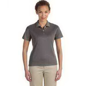 Devon & Jones Ladies' Pima-Tech (TM) Jet Pique Heather