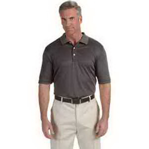 Devon & Jones Men's Pima-Tech (TM) Jet Pique Heather Polo