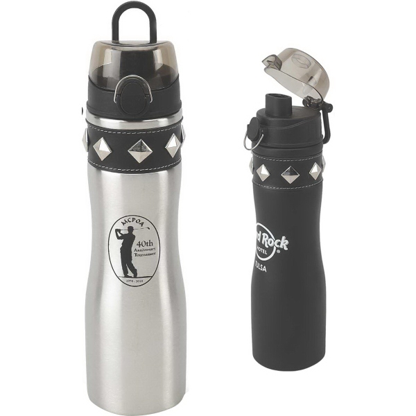 Customized 24 oz. Stud-Ette Stainless Water Bottle