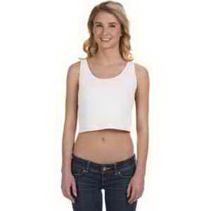 Bella & Canvas Ladies's Poly-Cotton Crop Tank