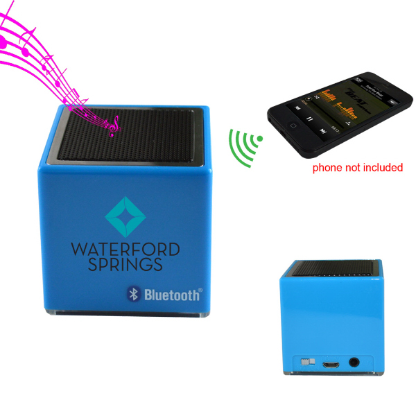 Imprinted The Cube - Mini Bluetooth Wireless Speaker II
