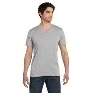 Unisex Made in the USA Jersey Short-Sleeve V-Neck T-Shirt