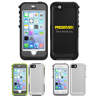 Printed OtterBox Preserver for Apple phone 5/5s