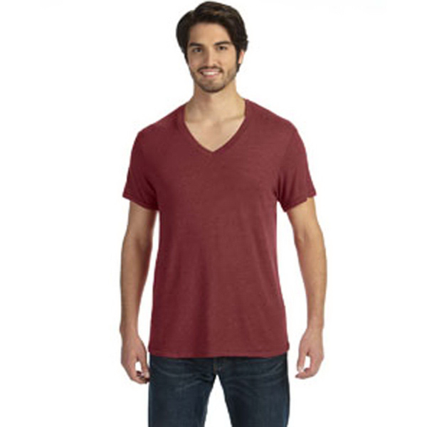 Alternative Men's Feeder Stripe V-Neck