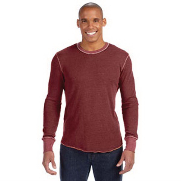 Alternative Men's Feeder Stripe Long-Sleeve Crew
