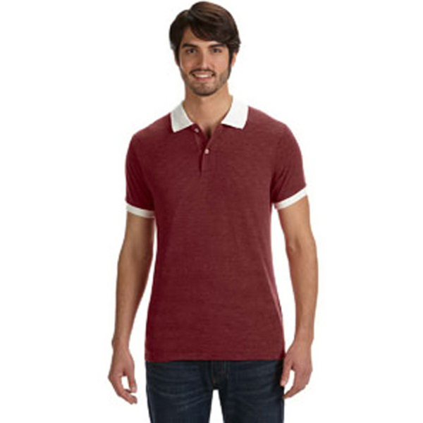 Alternative Men's Feeder Stripe Polo