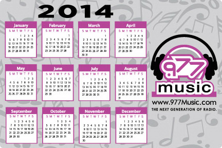 "PRT61 Calendar Decal 4""x6"" Removable Adhesive-White Vinyl"