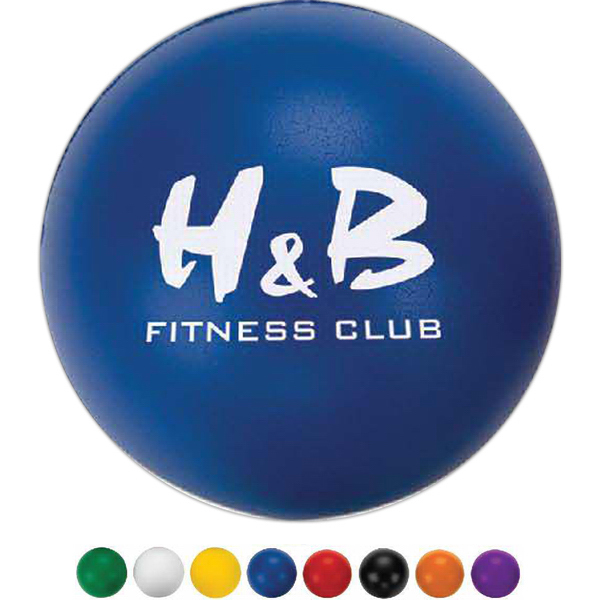 Promotional Round Stress Ball 3 Day