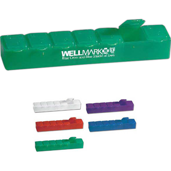Promotional Seven Day Pill Case