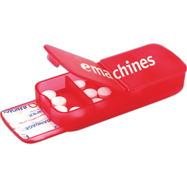 Personalized Bandage Dispenser with Pill Case-2 Hour