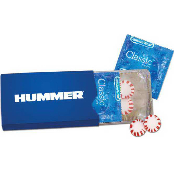 Personalized Condoms and Mints in Sleeve-3 Days