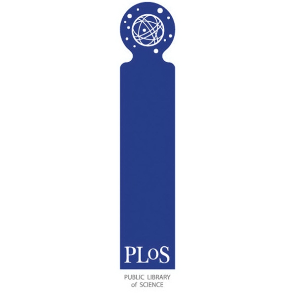PRT86- Plastic Bookmark-Round Top .015 thickness