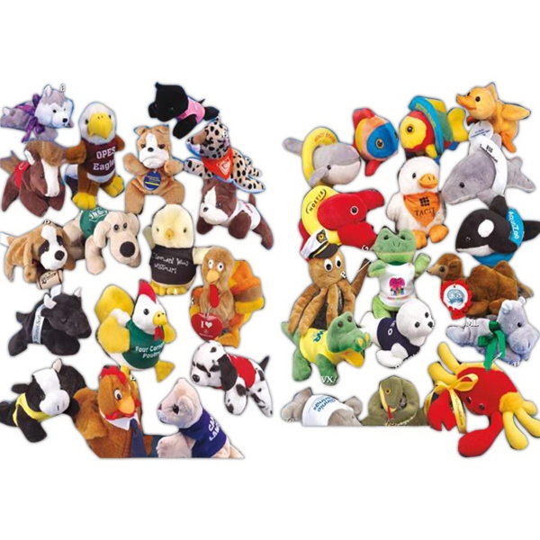 "Bean Bag Pals (TM) 7"" stuffed animal"