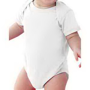 Rabbit Skins Infant Fine Jersey Lap Shoulder Bodysuit