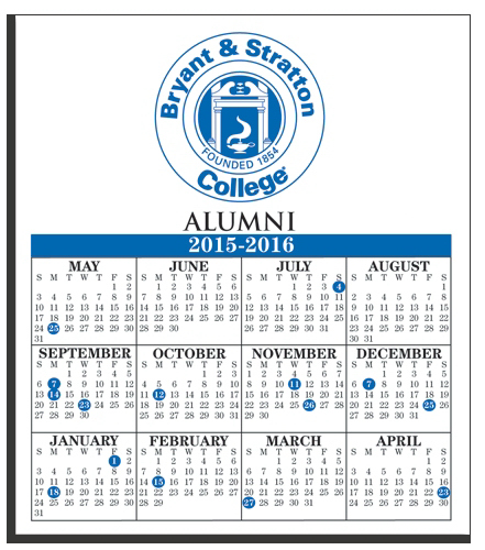 Customized W-122 Calendar Card