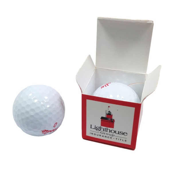 Promotional Individual Single Golf Ball Box