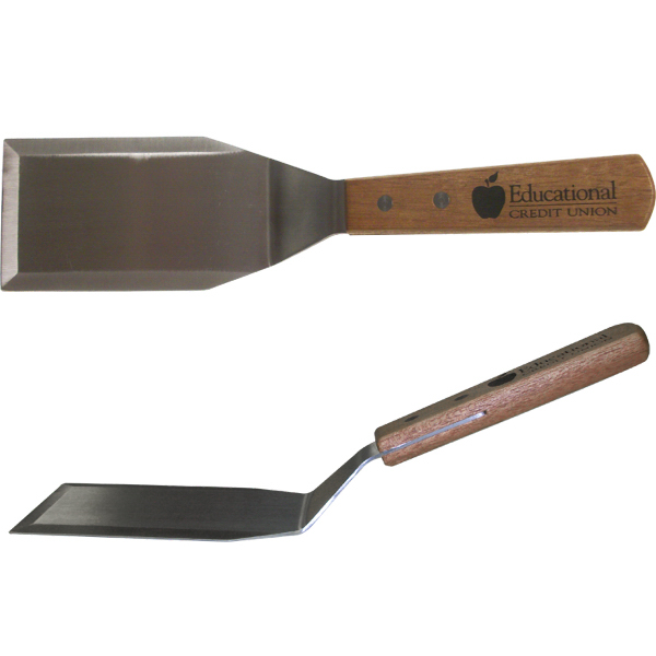 Flat Top Flipper with Wood Handle