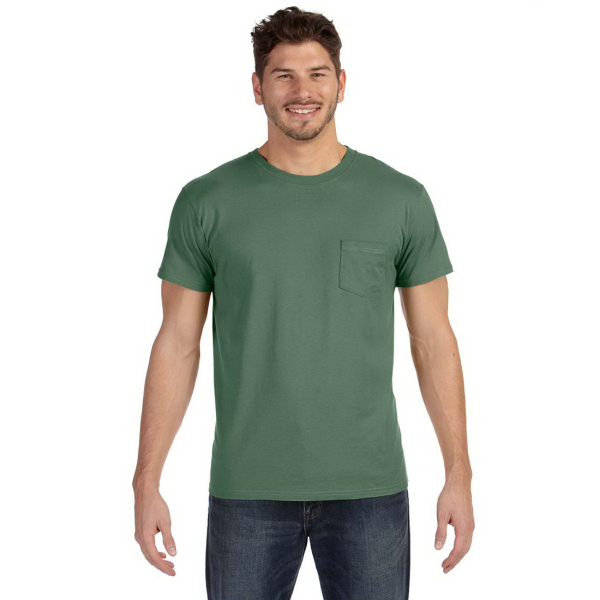 100% Ringspun Cotton Nano-T (R) T-Shirt w/Pocke