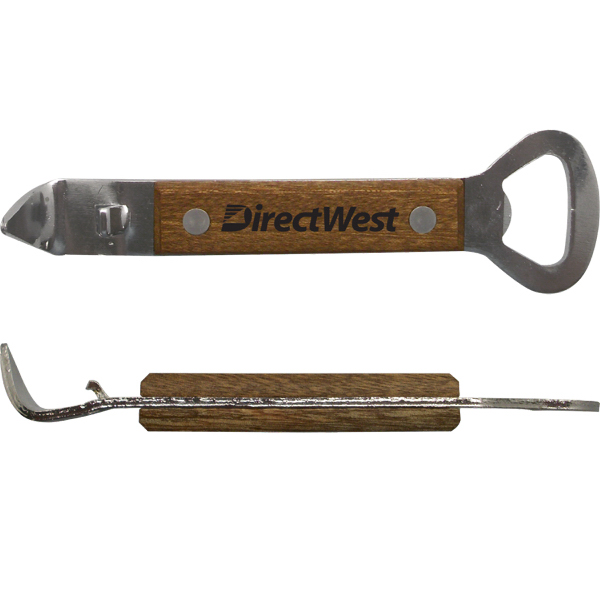 Wood Handle Stainless Steel Bottle Opener