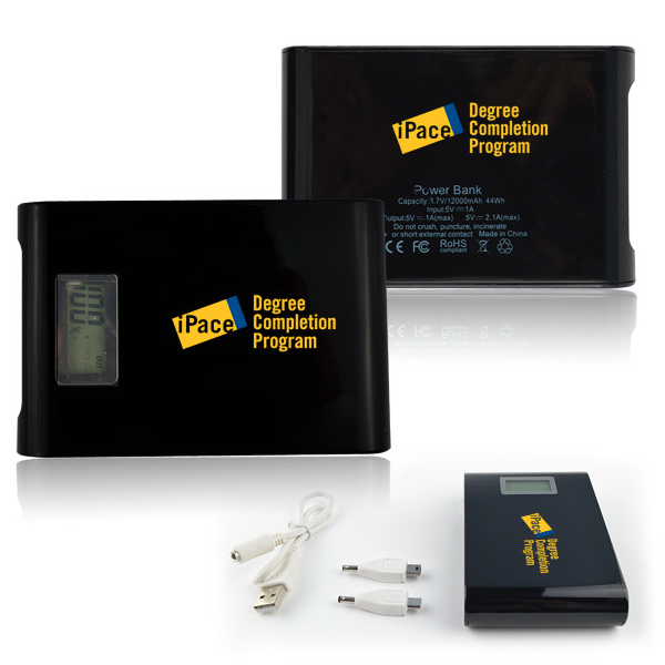 Blackout 10000mAh Backup Battery & Charger For Smartphone