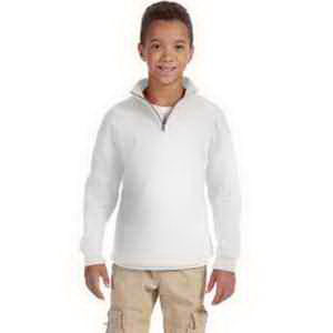 Jerzees (R) Youth 8 oz 50/50 NuBlend (R) 1/4 Zip Sweatshirt