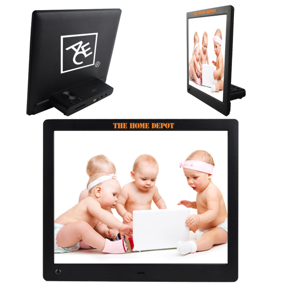 "10"" Ultra thin HD digital photo frame"