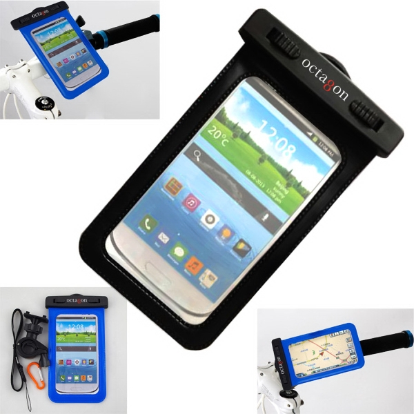 Bike Buddy Handlebar mounted waterproof cell phone case