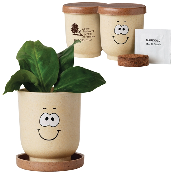 Customized Goofy Grow Pot Eco-Planter